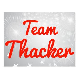 Team Thacker Postcard