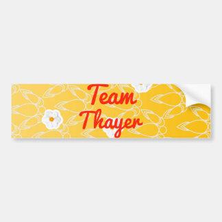Team Thayer Bumper Sticker