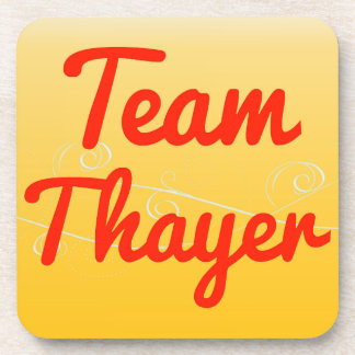 Team Thayer Beverage Coaster