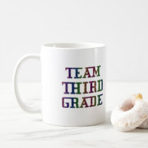 Team Third Grade, Back To School Gift Coffee Mug