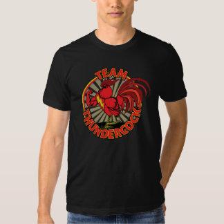 Team Thundercock Men's T-Shirt, Black Tshirts