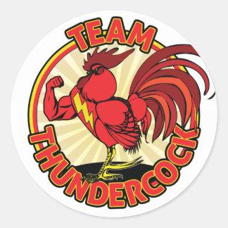 Team Thundercock Sticker