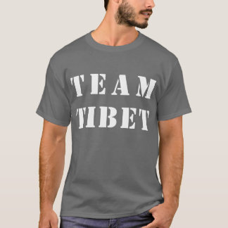 Team Tibet t-shirt