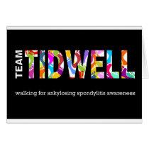 Team Tidwell Card