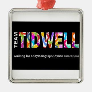 Team Tidwell Metal Ornament