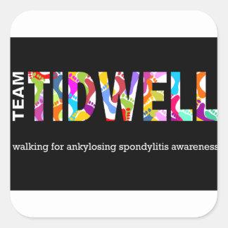 Team Tidwell Square Sticker