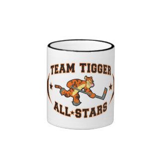 Team Tigger All*Stars Ringer Coffee Mug