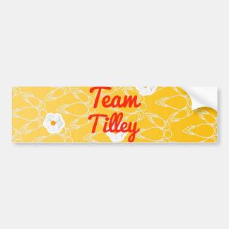 Team Tilley Bumper Sticker