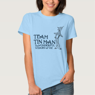 Team Tin Man, AKA Nick Chopper, The Tin Woodman Tee Shirt
