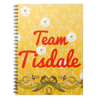 Team Tisdale Spiral Notebook