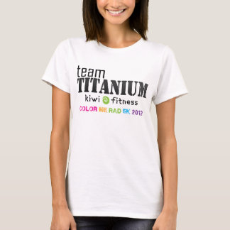 Team Titanium - Color Me Rad 2012 T-Shirt