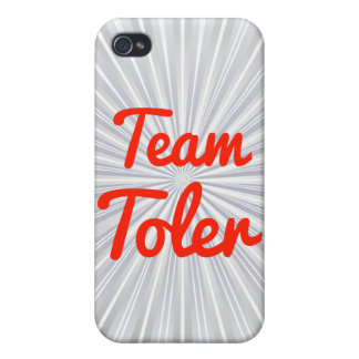 Team Toler iPhone 4 Covers