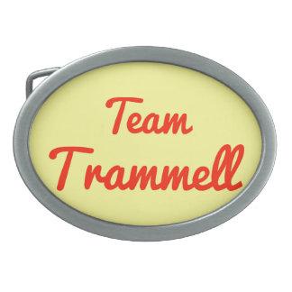 Team Trammell Belt Buckle