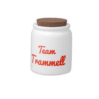 Team Trammell Candy Jar