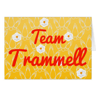 Team Trammell Greeting Cards