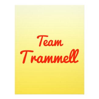 Team Trammell Flyer Design