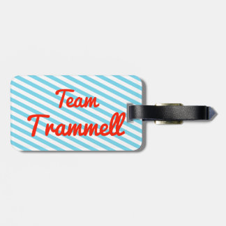 Team Trammell Tag For Luggage