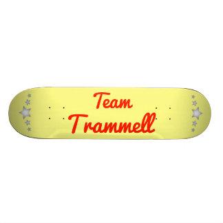 Team Trammell Custom Skateboard
