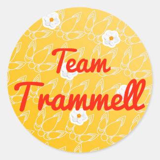 Team Trammell Round Sticker