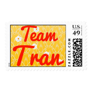 Team Tran Postage Stamps