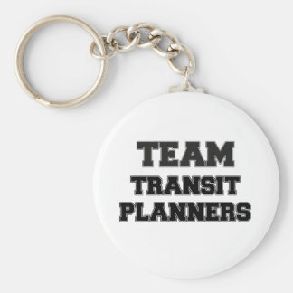 Team Transit Planners Keychains