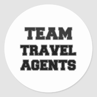 Team Travel Agents Sticker