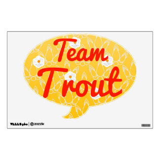 Team Trout Room Graphics