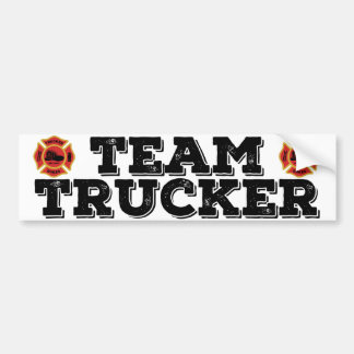 Team Trucker Bumper Sticker