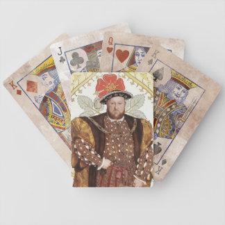Team Tudor - Tudor King Henry VIII of England Bicycle Playing Cards