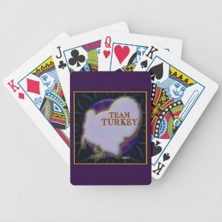 Team Turkey Bicycle Playing Cards