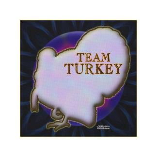 Team Turkey Canvas Print