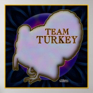 Team Turkey Poster