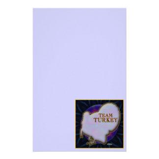 Team Turkey Stationery