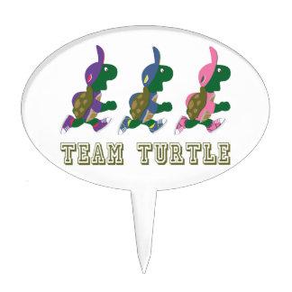 Team Turtle Cake Topper