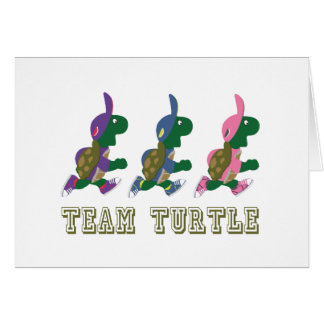 Team Turtle Card