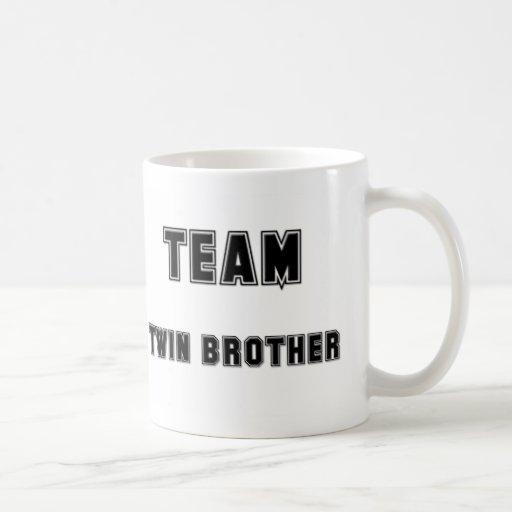 Team Twin Brother Classic White Coffee Mug