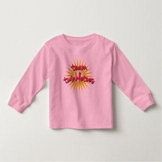 Team Twinkletoes with Starburst Toddler T-shirt