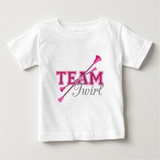 Team Twirl Baton Baby T-Shirt