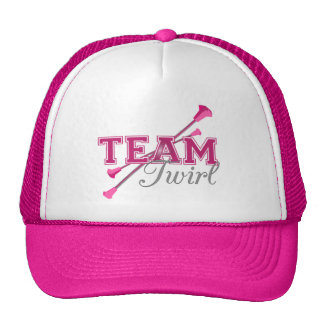 Team Twirl Baton Trucker Hat