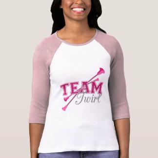 Team Twirl Baton T Shirt
