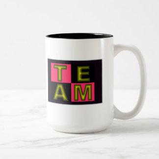 Team Two-Tone Coffee Mug