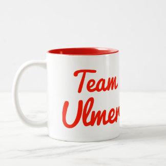 Team Ulmer Two-Tone Coffee Mug