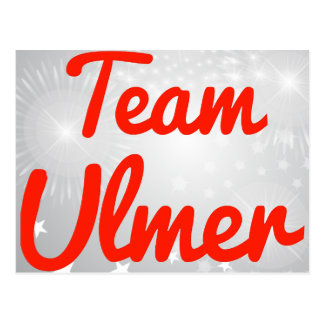 Team Ulmer Postcard