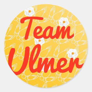 Team Ulmer Classic Round Sticker