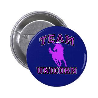Team Unicorn Pinback Button