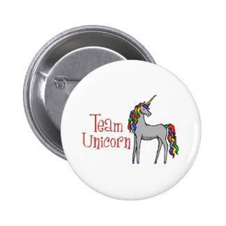 Team Unicorn Rainbow Pin