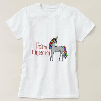 Team Unicorn Rainbow T-Shirt