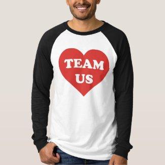 TEAM US Men's Canvas Long Sleeve Raglan T-Shirt