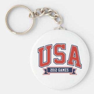 Team USA 2012 Games Keychains