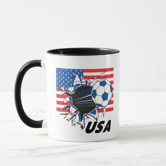 Team USA Soccer Mug